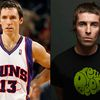 Sosies du jour : Steve Nash & Liam Gallagher
