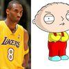 Les sosies du jour : Kobe Bryant & Stewie Griffin