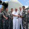 HMAS Perth Receives Gunnery Prize at RIMPAC 2012 - What happened to the Kiwi's???????????