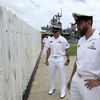Members of Australian Clearance Dive Teams Pay Tribute to Fallen at Pearl Harbor