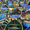 Barques de peche à Agadir