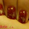 Nail Art # 15 : Baroque japonisant