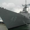 USS Vandegrift, Sampson, Waesche Arrive Singapore for CARAT 2012