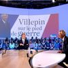 D. de Villepin au Grand journal de Canal+