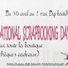 National scrapbooking days