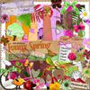 funny spring : collab boutique-digiscrap.com