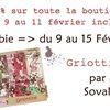 griottine freebie jusque dimanche soir + promo boutique