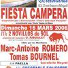 Fiesta campera pour le soutien de l'Ecole Taurine de Nîmes