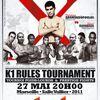 """DECENNIUM - """"4-man"""" K-1 Rules HeavyWeight Tournament."""