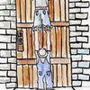 les zozos à la porte du château