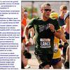 Amstrong au marathon de New York...