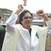 Mouammar Kadhafi en France début décembre