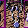 Le violet et turquoise !