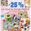 Promotion chez Scrapmalin + Freebie