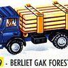 Berliet GAK forestier de France Jouets