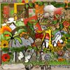 "Kit ""wild"" de Chriscrap chez Scrapmalin"
