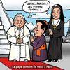 le pape est content