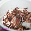 Pannacotta vanille - chocolat express pour ma copine Virginie
