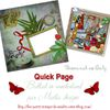 "Quick page ""Ballad in wonderland"" en Freebie"