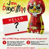 Mugo by Jon Burgerman, art toys mp3 player