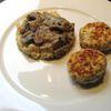 Boulettes de poulet sauce champignons fromage frais