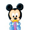 image ** mickey disney baby bebe ** tube pour la creation numerique au format gif
