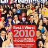 Taylor Lautner on the cover of EW Best & Worst of 2010 !