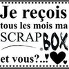 Scrap Box de chez Dame de Kit