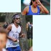 Mauresmo et Noah au marathon de New York