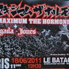 Maximum The Hormone Enon Tour 2011 Live @ Bataclan - Paris !