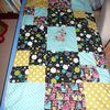 ma couverture style patchwork