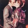 Photo: Madonna kissing actor Luke Perry at Aids Awards in 1991