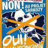 Non à la réforme Sarkozy, oui à l'autonomie. Débat à Lorient le 18 juin.
