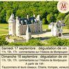 journées du patrimoine Château de Montpoupon