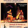 Joanne McIver & Christope Saunière en concert le 12/02/2011 à Paris