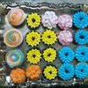 eggless mixed flavour cupcakes