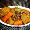 Ragoût de veau aux épices et carottes