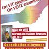 Campagne pour le droit de vote des étrangers non communautaires