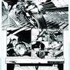 Batman #2, deux planches encrées!