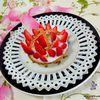 Tartelettes fraises - gelée de citron et curcuma