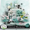 "2 quicks pages en freebie avec mon kit ""Eternal Harmony"""