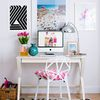 small chic desk spac