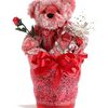 From You Flowers-Red Sweetheart Bear @ From You Flowers