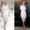 Rosie Huntington-Whiteley In christian louboutins&Dolce & Gabbana Shanghai Press Conference