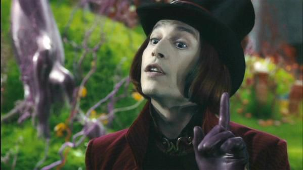 Charlie and the Chocolate Factory<br />Wonka's Welcome song<br />Willy Wonka, Willy Wonka, the amazing chocolatier...Willy Wonka, Willy Wonka, everybody give a cheer...He's modest, clever, and so smart, he barely can restrain it <br />&nbsp&#x3B;With so much generosity, there is no way to contain it, to contain it, to contain.... to contain... to contain...