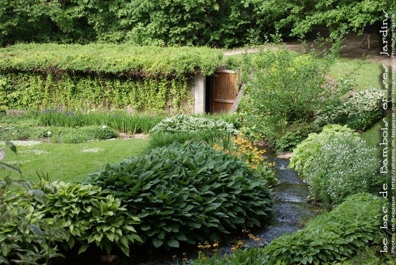 Jardins d'Annevoie, Lac de Bambois, Bord de Meuse, ...