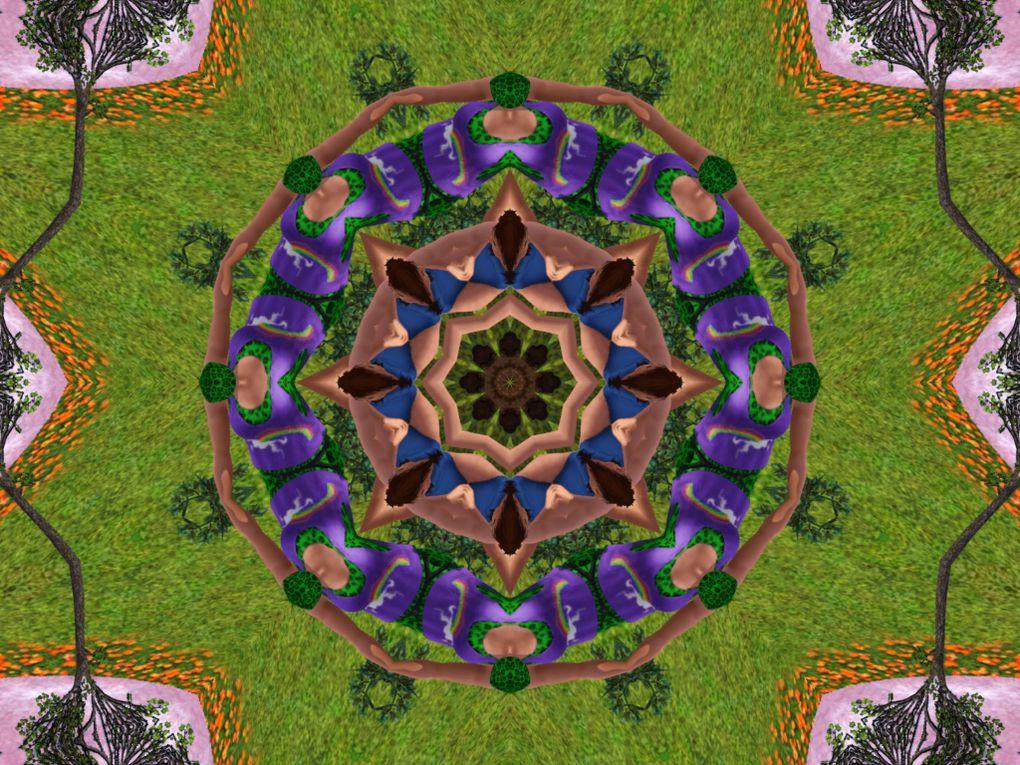 Album - Sims 3 - Mandalas et Kaléïdoscopes 02