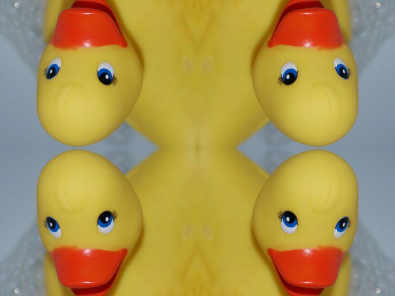 Album - Jeux de miroirs à l'heure du bain