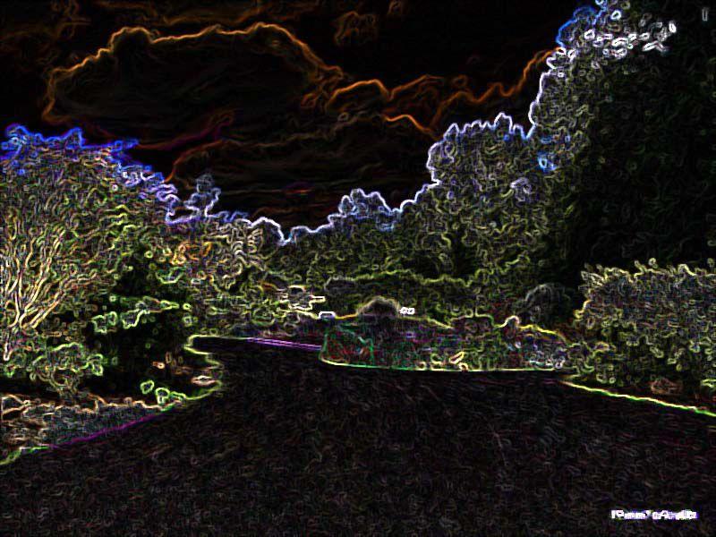 Album - Effets de contours lumineux