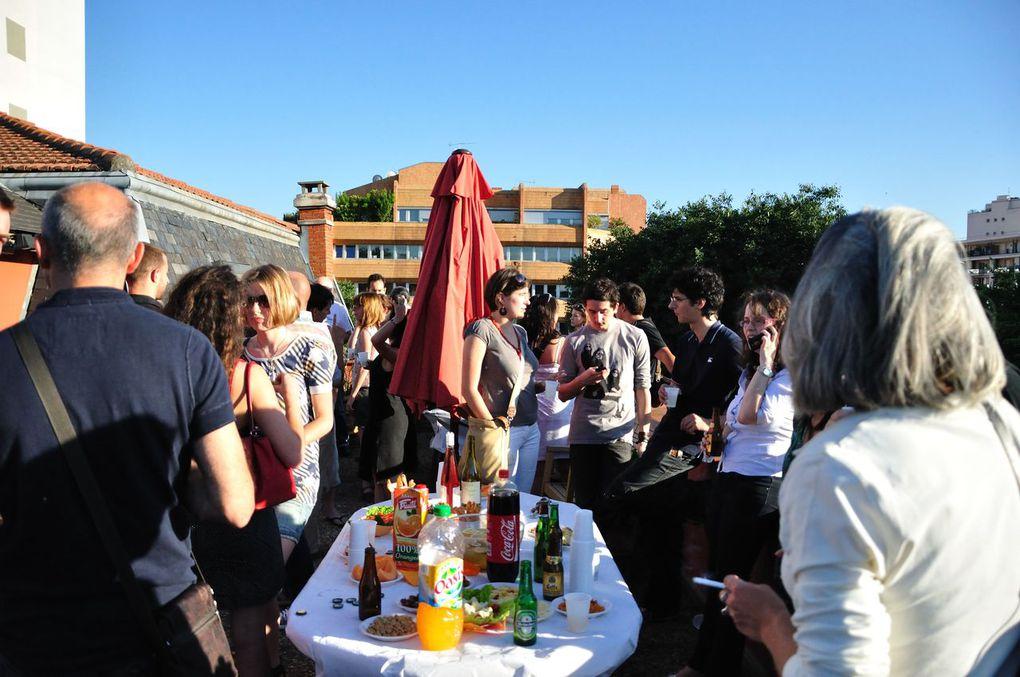 """Quelques photos des réunions de """"Blogs sur Garonne"""" qui ont eu lieu dans nos locaux !"""